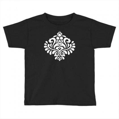Labyrinth Damask Toddler T-shirt Designed By Bud1