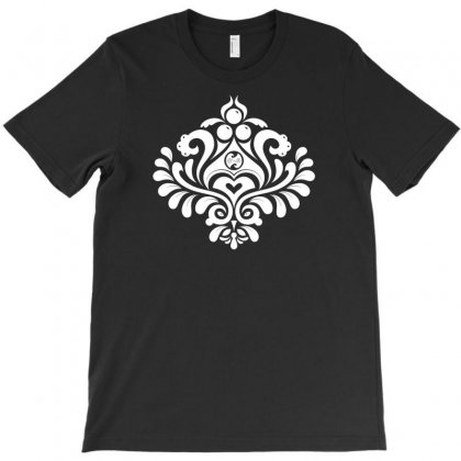 Labyrinth Damask T-shirt Designed By Bud1