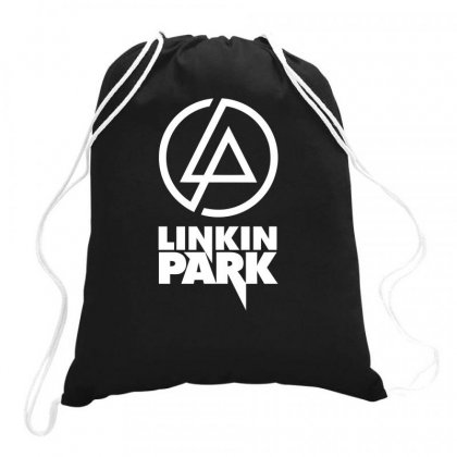Linkin Park Drawstring Bags Designed By Bud1