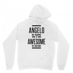 Angelo Personalized Name Birthday Gift Unisex Hoodie | Artistshot