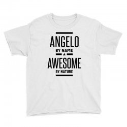 Angelo Personalized Name Birthday Gift Youth Tee | Artistshot