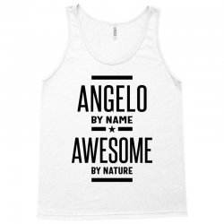 Angelo Personalized Name Birthday Gift Tank Top | Artistshot