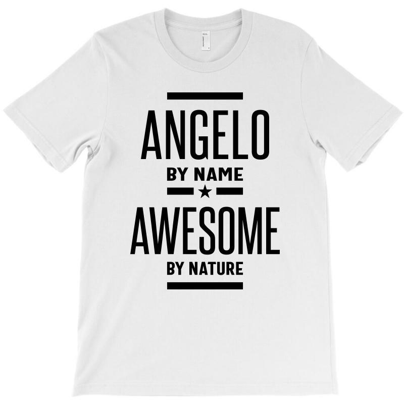 Angelo Personalized Name Birthday Gift T-shirt   Artistshot