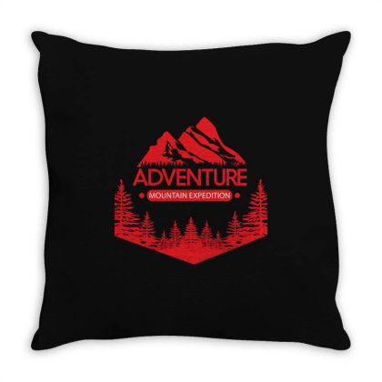 Adventure Throw Pillow Designed By Estore