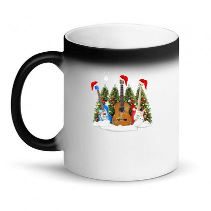 Christmas Guitar Magic Mug Designed By Neset