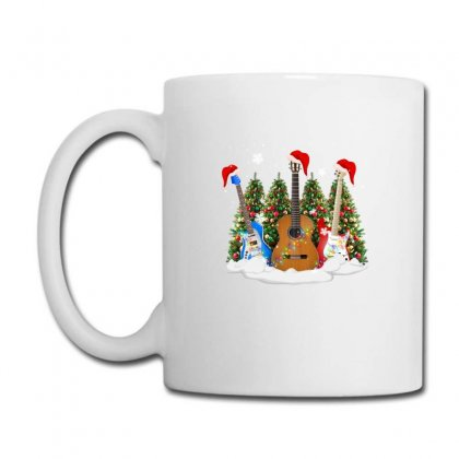 Christmas Guitar Coffee Mug Designed By Neset