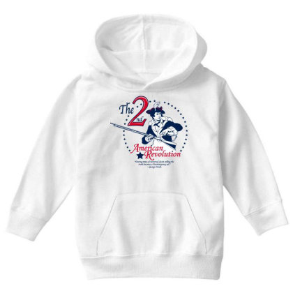American Revolution Youth Hoodie Designed By Estore