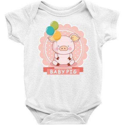 Baby Pig Baby Bodysuit