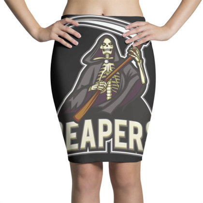 Reapers Pencil Skirts Designed By Estore