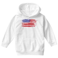 American flag Youth Hoodie | Artistshot