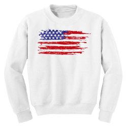 American flag Youth Sweatshirt | Artistshot