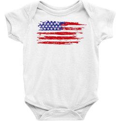 American flag Baby Bodysuit | Artistshot