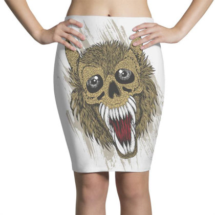 Wolf Pencil Skirts Designed By Estore