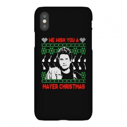 Wish You A Mayer Christmas Iphonex Case Designed By Paulscott Art