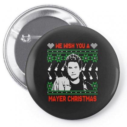 Wish You A Mayer Christmas Pin-back Button Designed By Paulscott Art