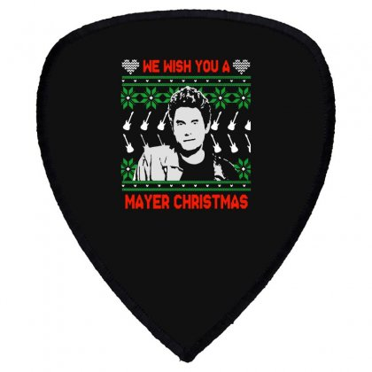 Wish You A Mayer Christmas Shield S Patch Designed By Paulscott Art