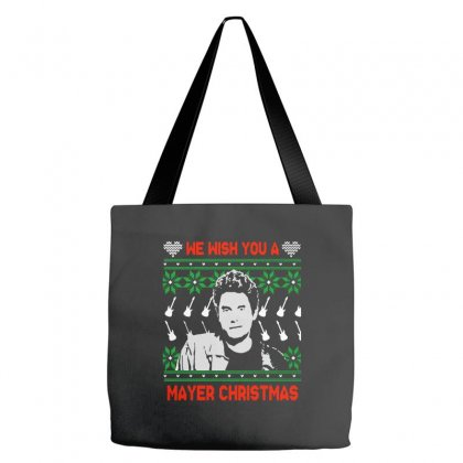 Wish You A Mayer Christmas Tote Bags Designed By Paulscott Art