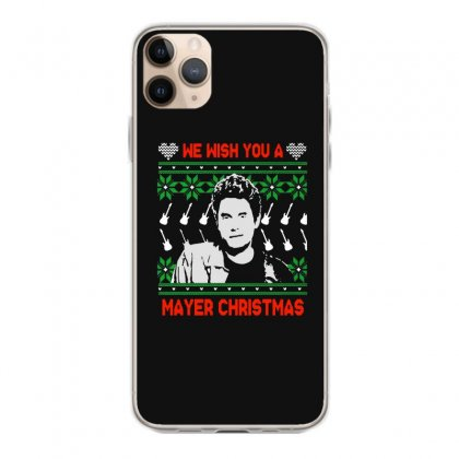 Wish You A Mayer Christmas Iphone 11 Pro Max Case Designed By Paulscott Art