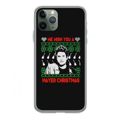 Wish You A Mayer Christmas Iphone 11 Pro Case Designed By Paulscott Art