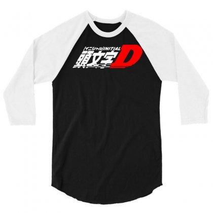 Initial D Anime Manga Drift Race Jdm 3/4 Sleeve Shirt Designed By Fanshirt