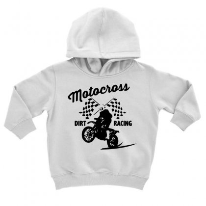 Motocross Dirt Racing Toddler Hoodie