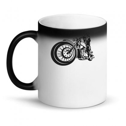 Chopper Biker Men Funny Magic Mug Designed By Candrashop