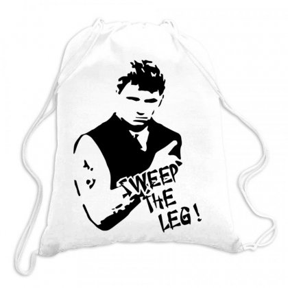 Sweep The Leg Drawstring Bags Designed By Bud1