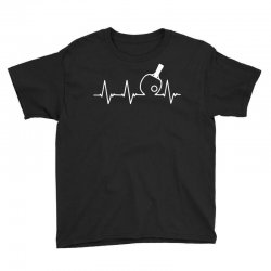table tennis heartbeat Youth Tee | Artistshot