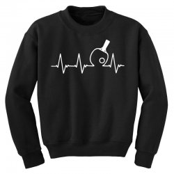 table tennis heartbeat Youth Sweatshirt | Artistshot