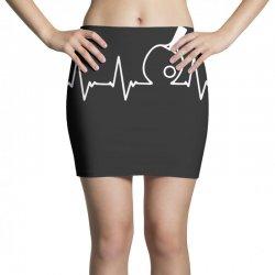 table tennis heartbeat Mini Skirts | Artistshot