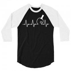 table tennis heartbeat 3/4 Sleeve Shirt | Artistshot