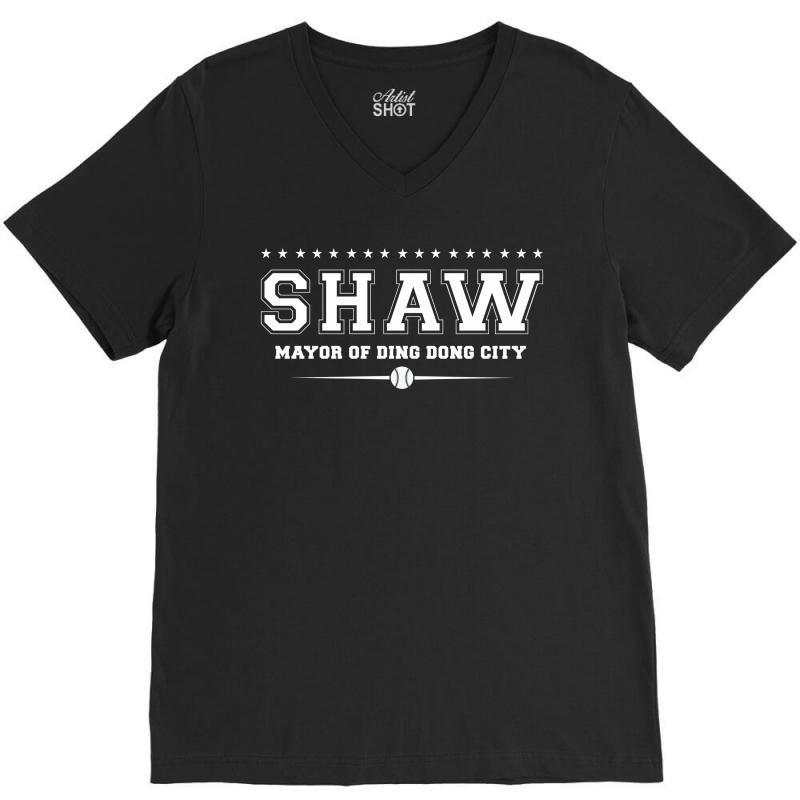 Travis Shaw, Mayor Of Ding Dong City V-neck Tee | Artistshot