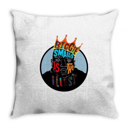 Biggie Smalls Throw Pillow Designed By Jetspeed001