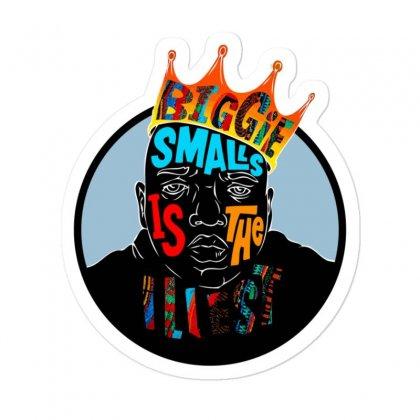 Biggie Smalls Sticker Designed By Jetspeed001