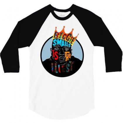 Biggie Smalls 3/4 Sleeve Shirt Designed By Jetspeed001