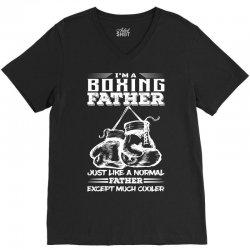 I'm A Boxing Father... V-Neck Tee | Artistshot