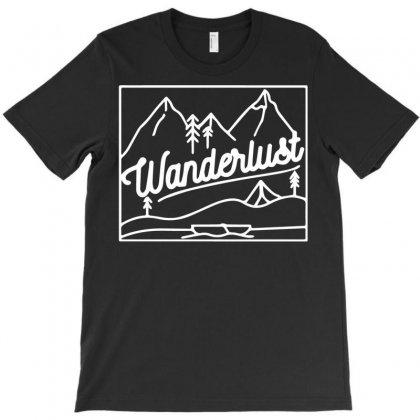Wanderlust T-shirt Designed By Bud1