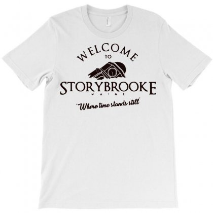 Welcome To Storybrooke T-shirt Designed By Bud1