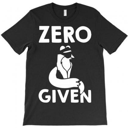 Zero T-shirt Designed By Bud1