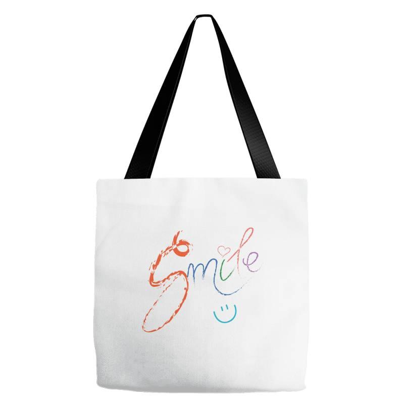 Smile Tote Bags   Artistshot