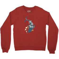 The life under water Crewneck Sweatshirt | Artistshot
