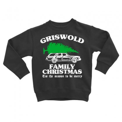 Griswold Family Christmas Toddler Sweatshirt Designed By Romeo And Juliet