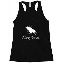 Black crows Racerback Tank | Artistshot