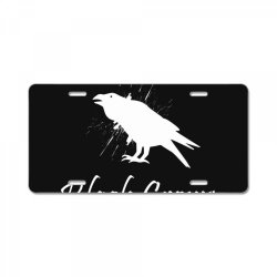 Black crows License Plate | Artistshot