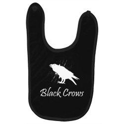 Black crows Baby Bibs   Artistshot