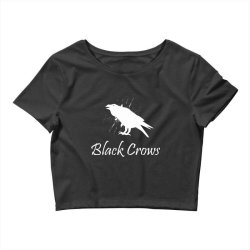 Black crows Crop Top | Artistshot