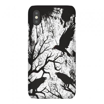Black Crows Iphonex Case Designed By Estore