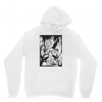 Black Crows Unisex Hoodie Designed By Estore