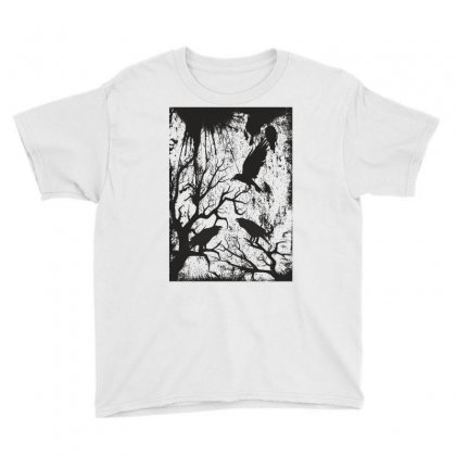 Black Crows Youth Tee Designed By Estore