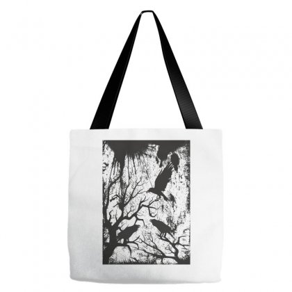 Black Crows Tote Bags Designed By Estore